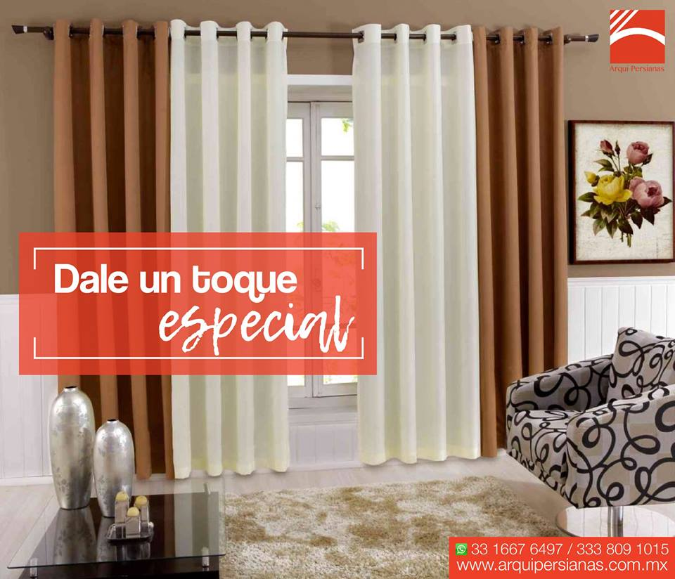Fábrica de cortinas y persianas en Vallarta